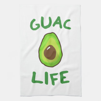 GUAC (Guacamole) LIFE - Green Tea Towel