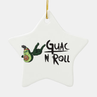 Guac N Roll products Christmas Ornament
