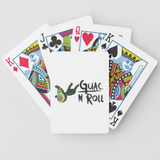 Guac N Roll products Poker Deck