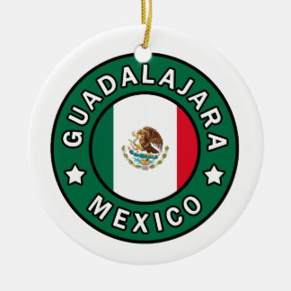 Guadalajara Mexico Christmas Ornament