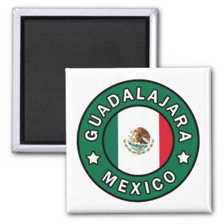 Guadalajara Mexico Square Magnet