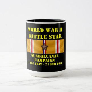 Guadalcanal Campaign Two-Tone Mug