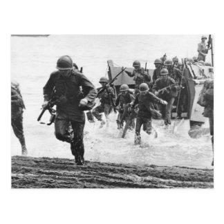 Guadalcanal Landing Postcards