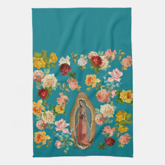 Guadalupe Kitchen Towel (turquoise)