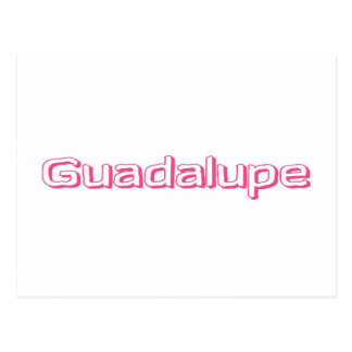 Guadalupe Postcard