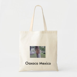 Guadalupe Tree, Oaxaca Mexico Canvas Bags