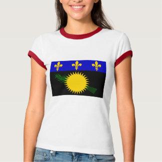 Guadeloupe flag tshirts