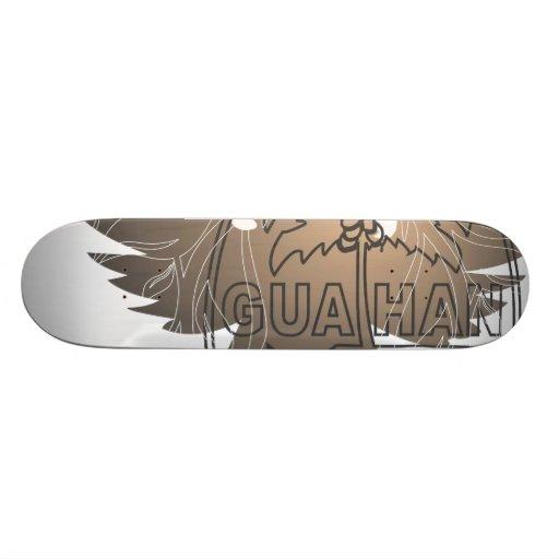 Guahan HypeAggressive Skateboard