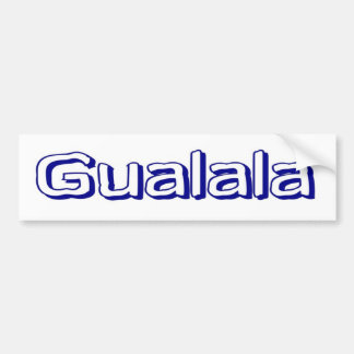 Gualala Bumper Sticker