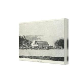 Gualala Mill, California Canvas Print