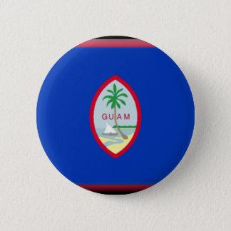 Guam 6 Cm Round Badge