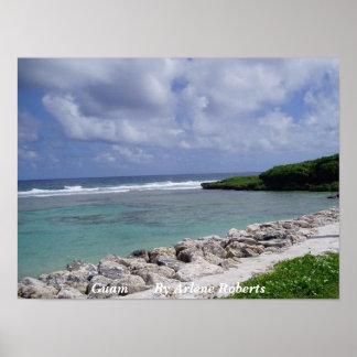 Guam Beach Poster