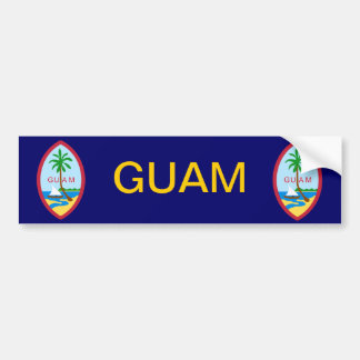 Guam Coat of Arms Bumper Sticker