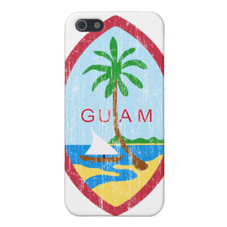 Guam Coat Of Arms iPhone 5 Cases