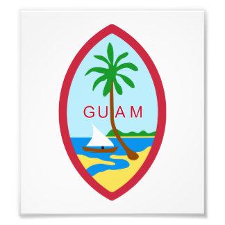 Guam Coat Of Arms Photo Art