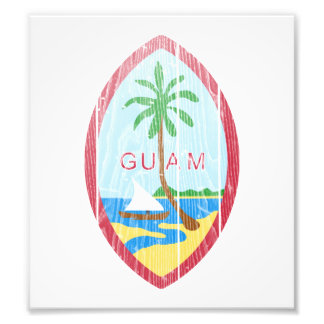 Guam Coat Of Arms Photographic Print