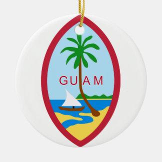 GUAM - emblem/flag/coat of arms/symbol Christmas Ornament