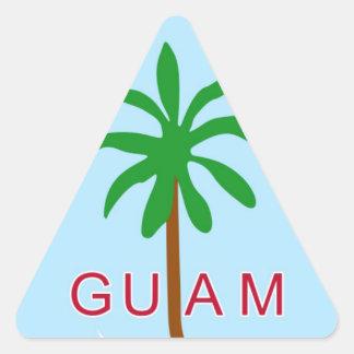 GUAM - emblem/flag/coat of arms/symbol Triangle Sticker
