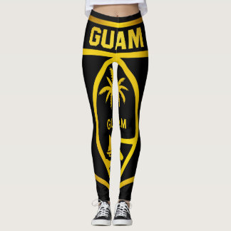 Guam Emblem Leggings