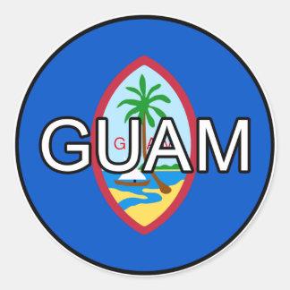 Guam Euro Sticker
