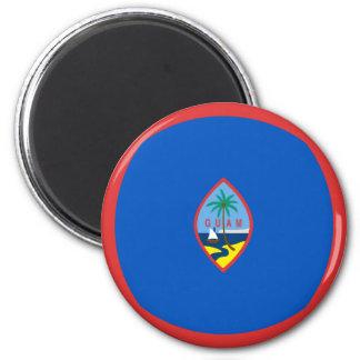 Guam Fisheye Flag Magnet