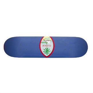 Guam Flag 21.3 Cm Mini Skateboard Deck