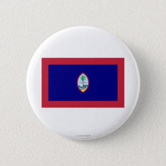 Guam Flag 6 Cm Round Badge