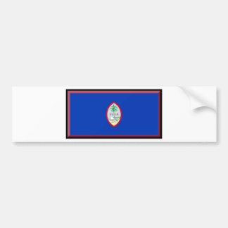 Guam Flag Bumper Stickers