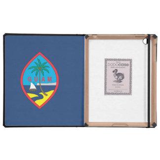 GUAM FLAG iPad FOLIO CASES