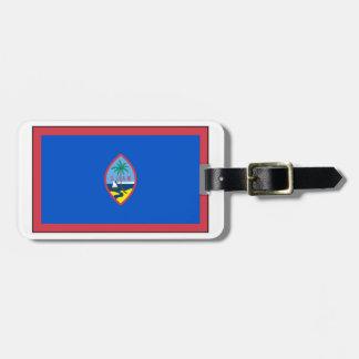Guam Flag Luggage Tag