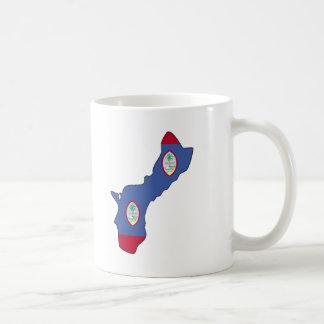 Guam flag map coffee mug