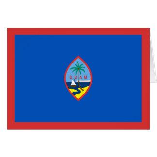 Guam Flag Notecard
