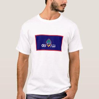 Guam flag souvenir tshirt
