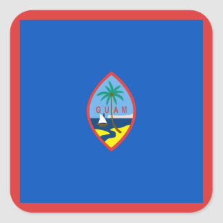 Guam Flag Sticker