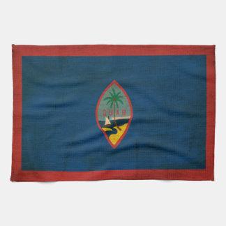 Guam Flag Tea Towel