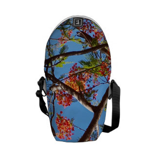 Guam Flame Tree Courier Bag