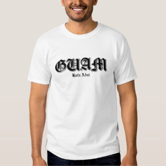 Guam Hafa Adai T Shirts
