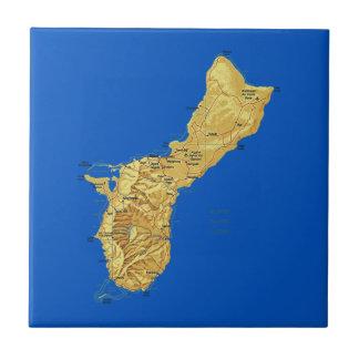 Guam Map Tile