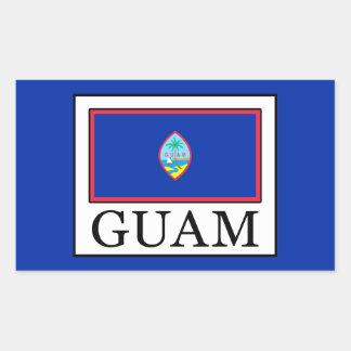 Guam Rectangular Sticker