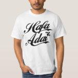 GUAM RUN 671 Hafa Adai - Black Font T-shirt