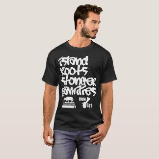 GUAM RUN 671 Island Roots Stronger Families T-Shirt