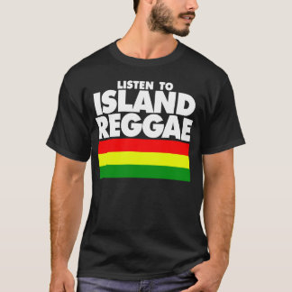 GUAM RUN 671 Listen to Island Reggae T-Shirt