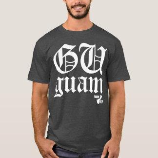 GUAM RUN 671 Old English Script T-Shirt
