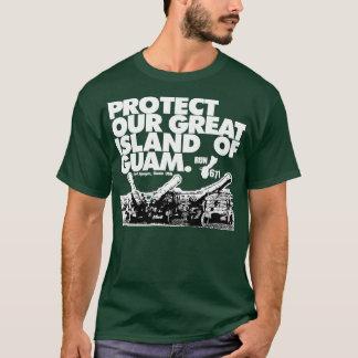 GUAM RUN 671 Protect Our Island T-Shirt
