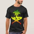GUAM RUN 671 Reggae Machete Seal T-Shirt