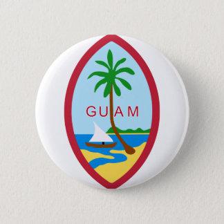 Guam Seal GU 6 Cm Round Badge