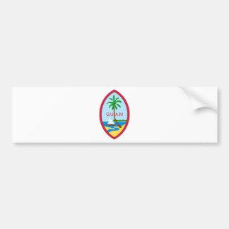 Guam Seal GU Bumper Sticker
