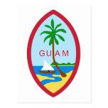 Guam Seal GU Postcard