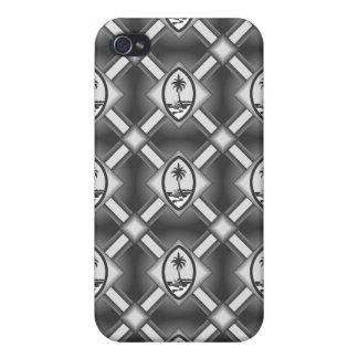 Guam Seal iPhone 4 case - Gray