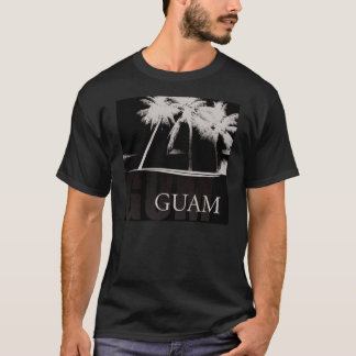 Guam shirt in black